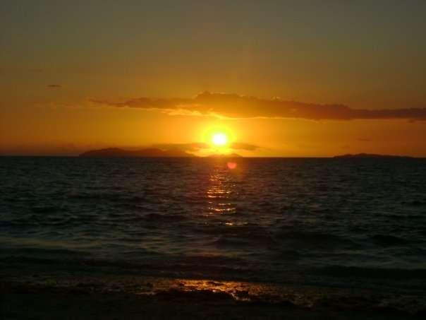 Coucher de soleil Fidji - Beachcomber - Nomad Junkies