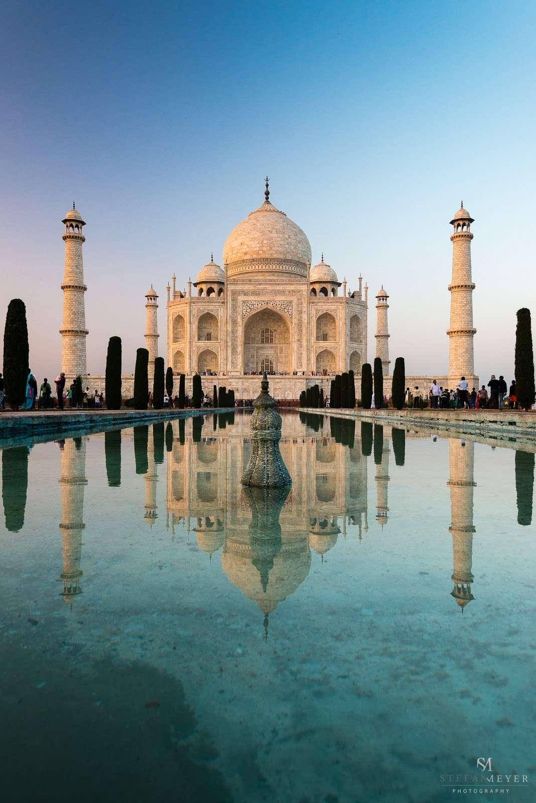 TajMahal - Inde - Agra : Stefan Meyer Travel Blog – L'Inde et la redéfinition de la normalité