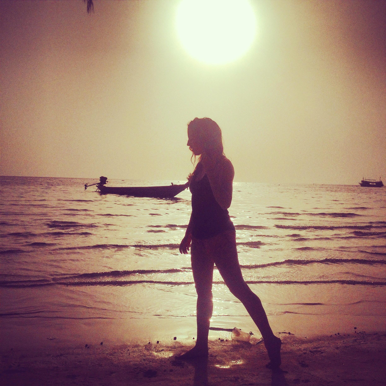 Coucher de soleil - Savoir oser (ou comment je suis devenue une Nomad Junkies) - Nomad Junkies