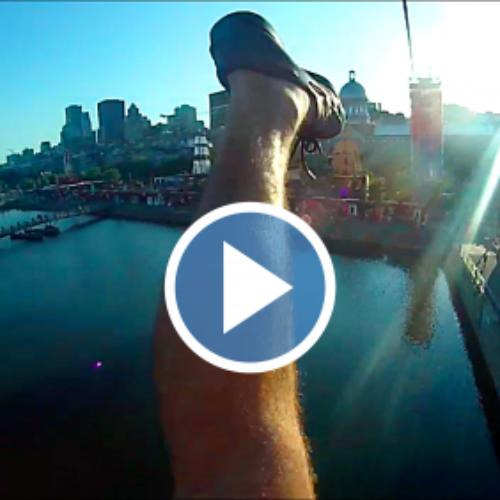 Comment s'envoyer en l'air dans le Vieux-Port de Montréal