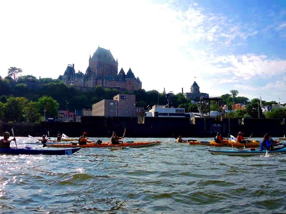 Château Frontenac - Exaltante 20 : Défi kayak Montréal - Québec - Nomad Junkies