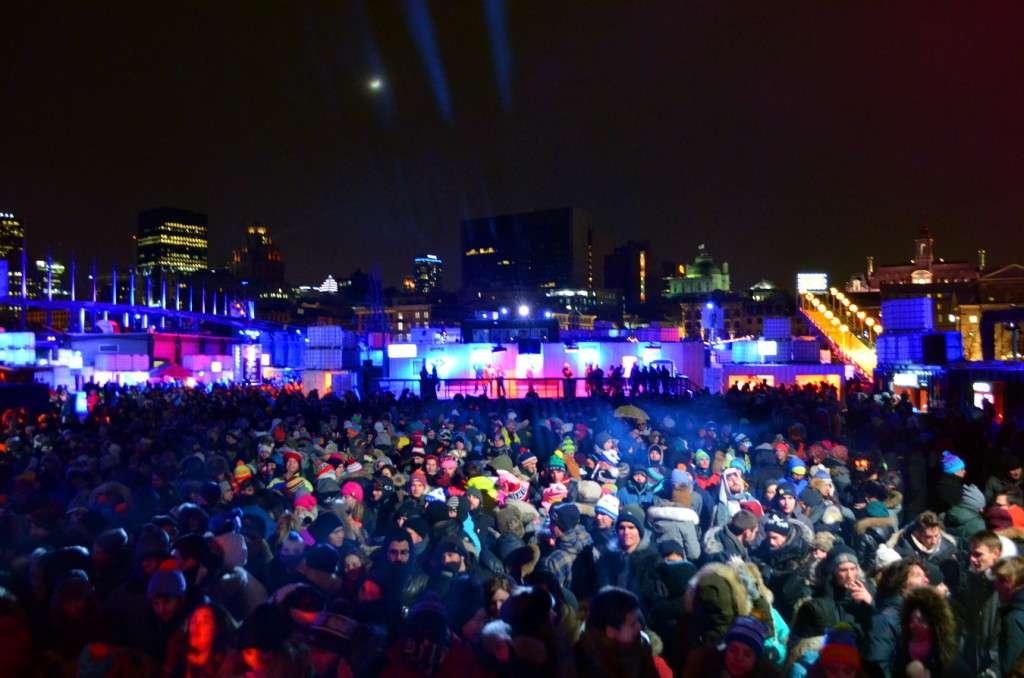 Canada : Igloofest party à Montréal