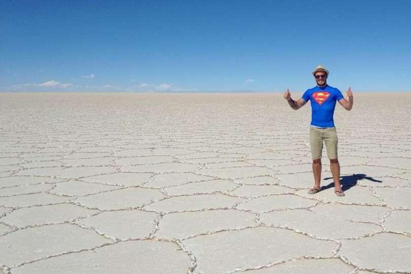 Salar De Uyuni Bolivie - Portrait de nomade : 7 questions à Marc-André de Karavaniers - Nomad Junkies