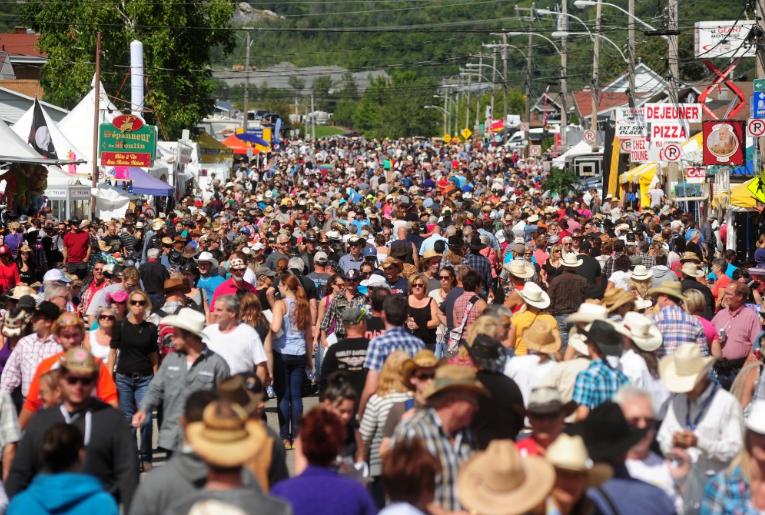 Festival western de St-Tite - Top 10 des festivals d'été au Québec - Nomad Junkies