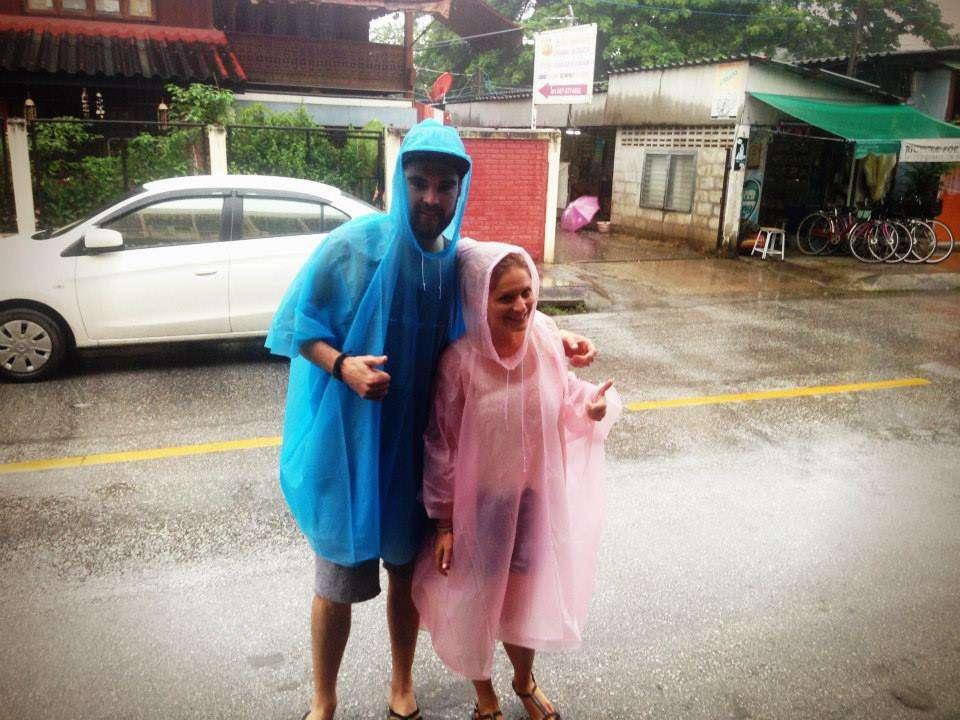 Pluie - Pourquoi j'ai choisi de voyager avant d'être maman - Nomad Junkies