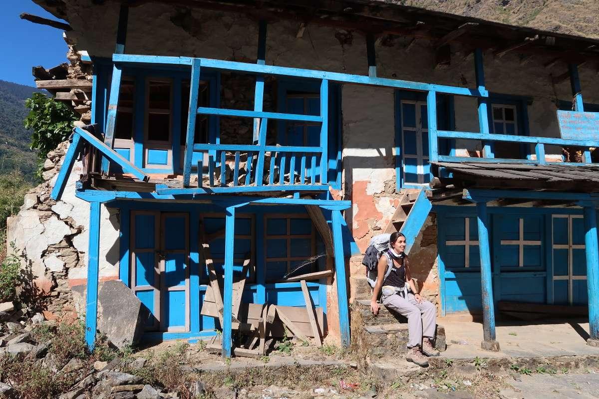 Ruines - Katmandou à l'Everest : 21 jours de trek par l'ancienne route - Nomad Junkies