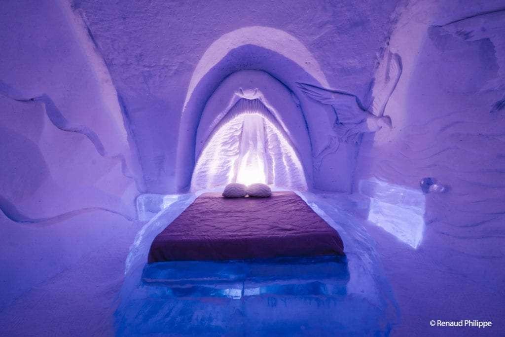 Chambre - L'Hôtel de Glace de Québec(ou comment tomber amoureux de l'hiver!) - Nomad Junkies