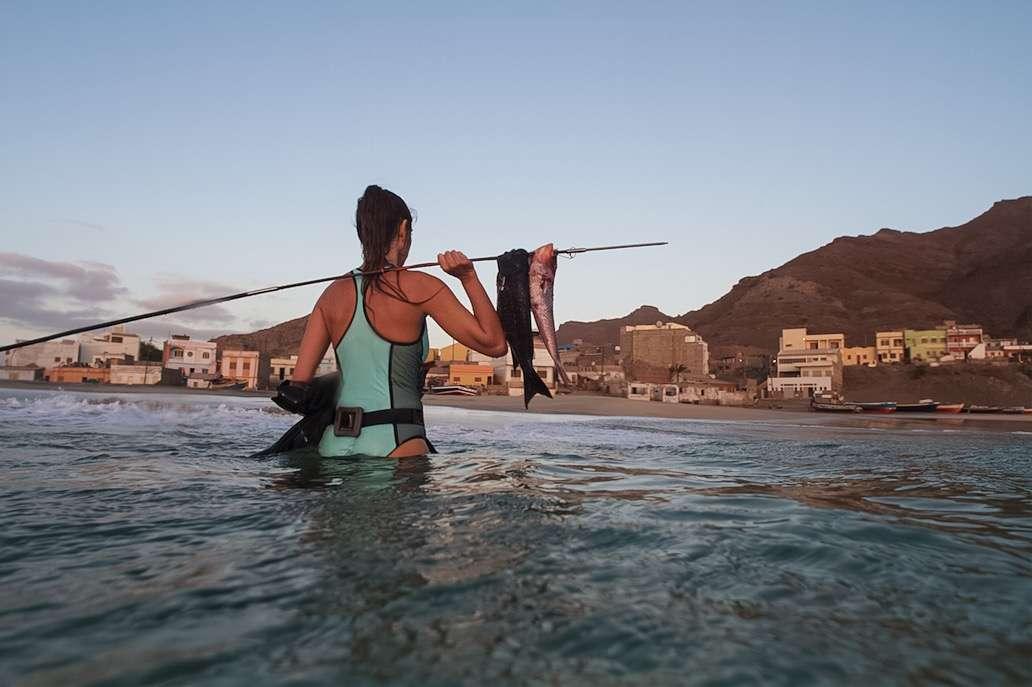 Pêche - Portrait de nomade : 7 questions à Valentine de Les flots - Nomad Junkies