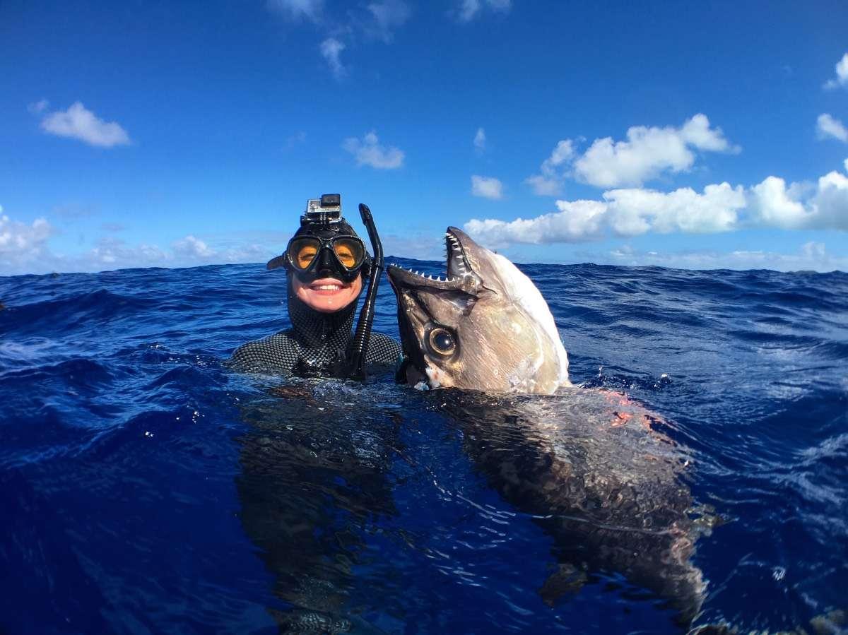 Gros poisson - Portrait de nomade : 7 questions à Valentine de Les flots - Nomad Junkies