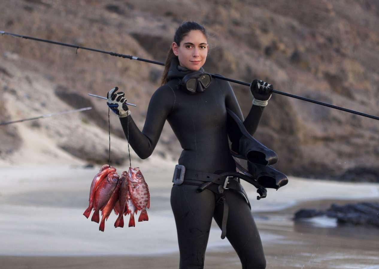 Valentine pêche - Portrait de nomade : 7 questions à Valentine de Les flots - Nomad Junkies