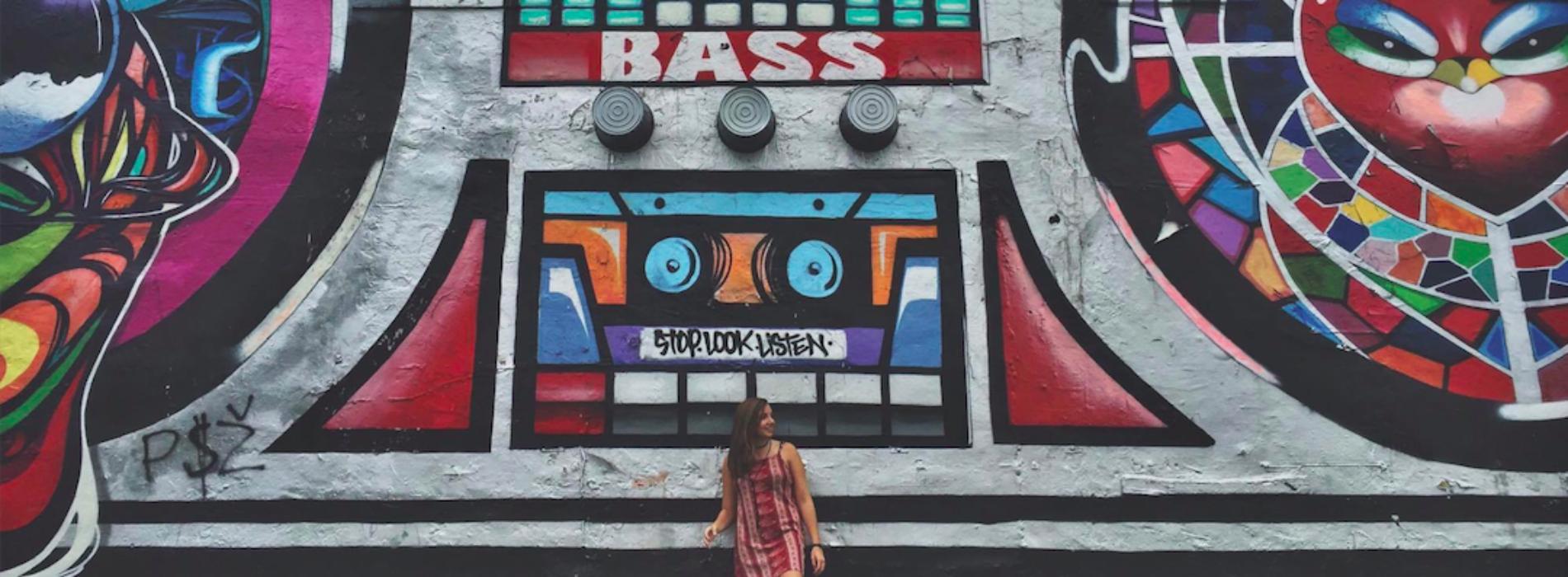 Graffiti : Top 99 des villes les plus instagrammées