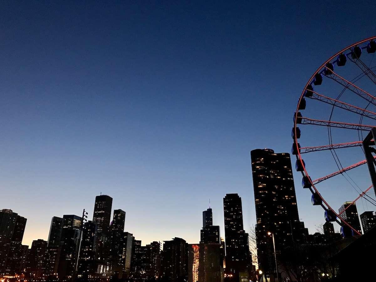 Grande roue - Escapade à Chicago : mon crush du temps des Fêtes - Nomad Junkies