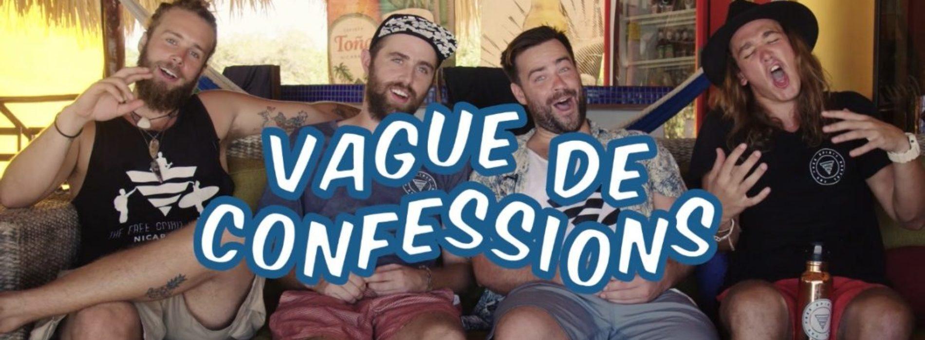 Vague de confessions : Karl, Vincent, Félix et Antoine du Free Spirit Hostel