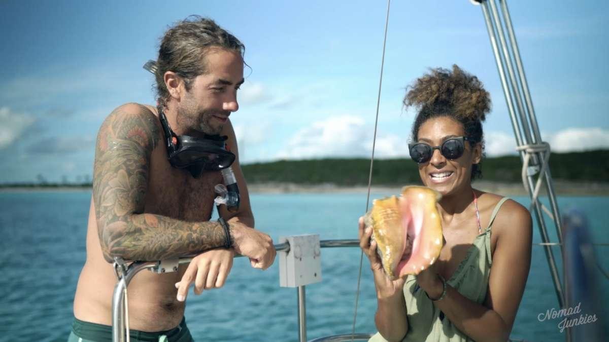 Julien & Eb Conch - Épisode 5 : aux Bahamas – Génération Nomade - Nomad Junkies