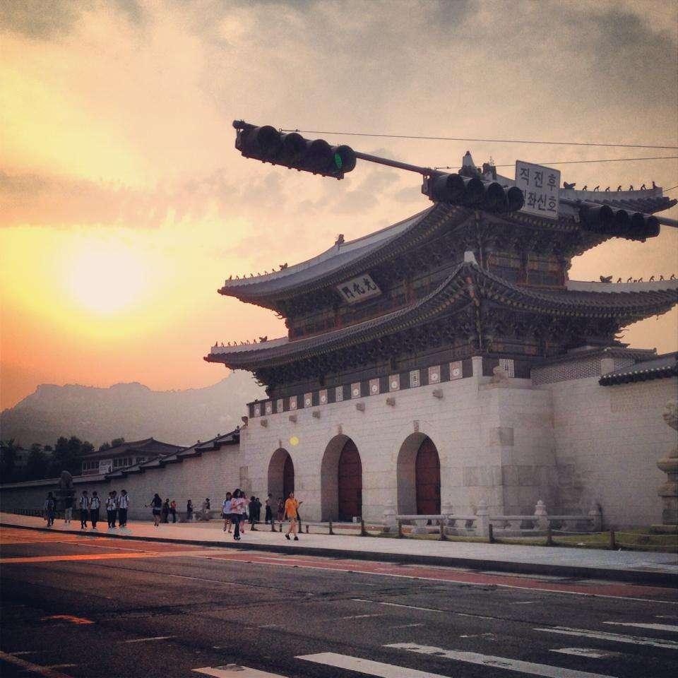 Coucher de soleil Séoul - Corée du Sud - Nomad Junkies