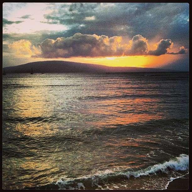 Coucher de soleil Maui - Hawaii- Nomad Junkies