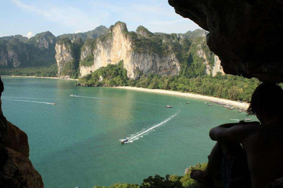 Railay Beach Thailande - Nomad Junkies