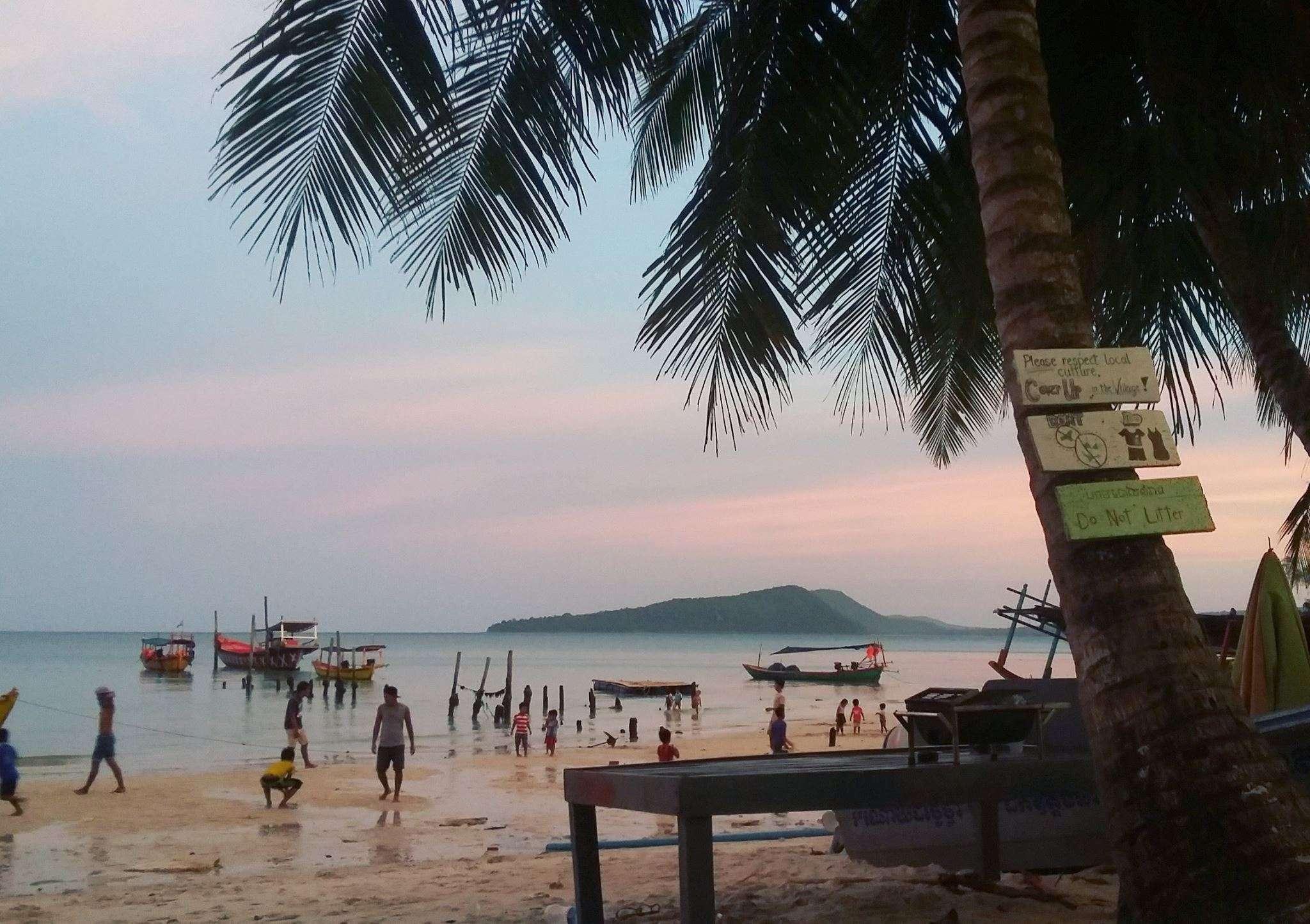 Plage Koh Rong - Voyager pour échapper à la vraie vie (ou pour ne pas que la vie t'échappe?) - Nomad Junkies