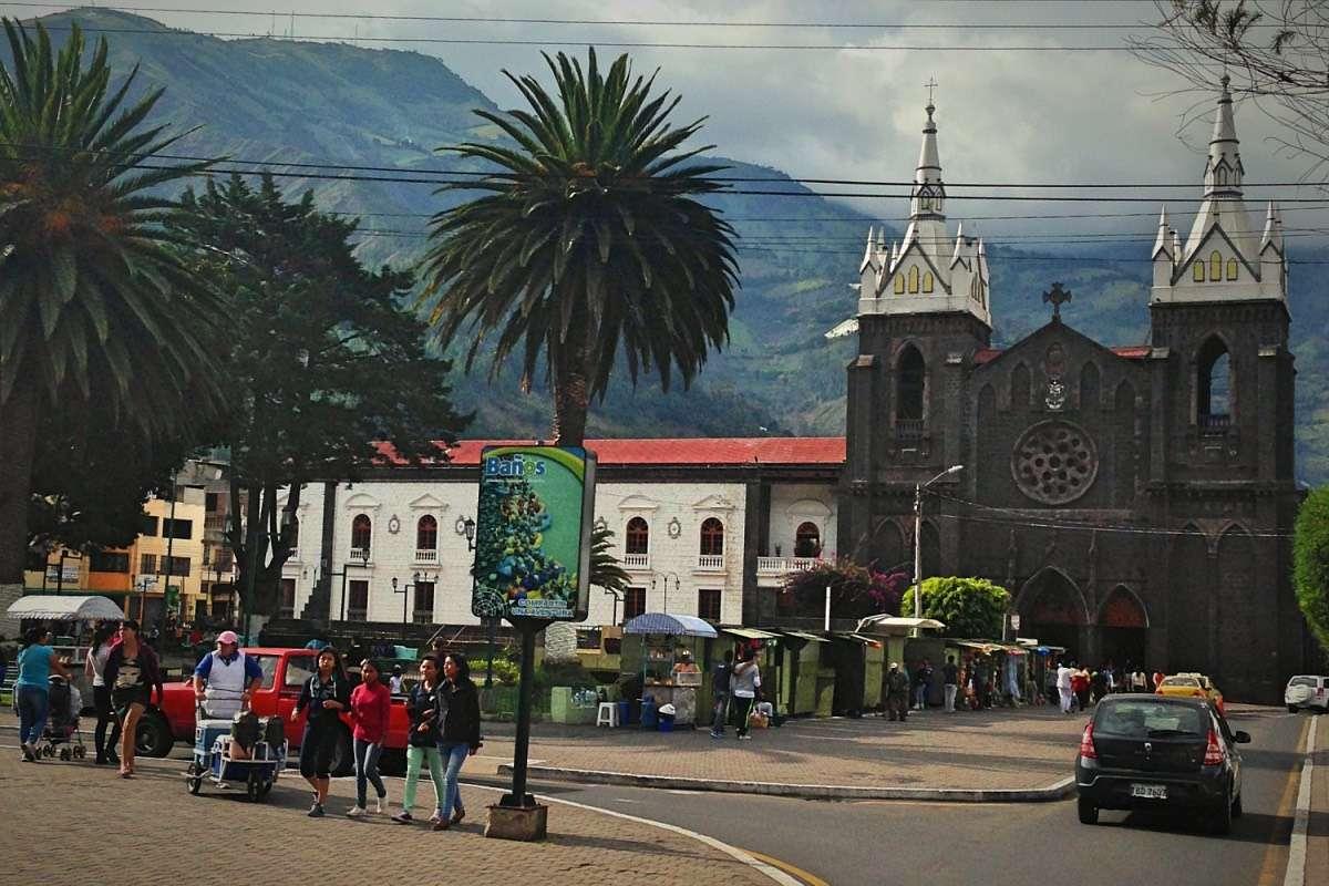 Church - Baños : Capitale du sport extrême en Équateur - Nomad Junkies