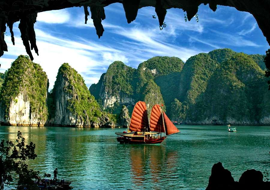 Croisière Baie Ha Long (Vietnam) - Top 20 des endroits à explorer avant de mourir - Nomad Junkies