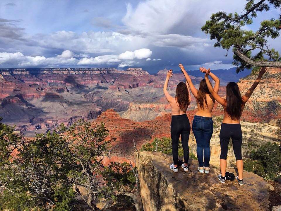 Grand Canyon topless