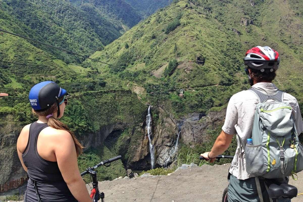 Ruta de las Cascadas - Baños : Capitale du sport extrême en Équateur - Nomad Junkies