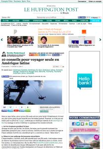 Nomad Junkies sur Huffington Post France