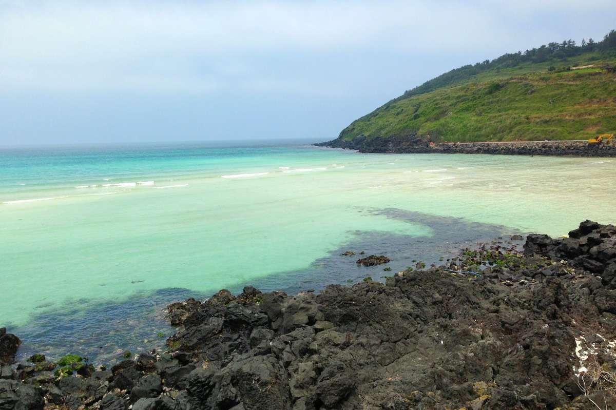 Plage Hamdeok Seoubon - L'île de Jejudo : Le Hawaï de la Corée - Nomad Junkies