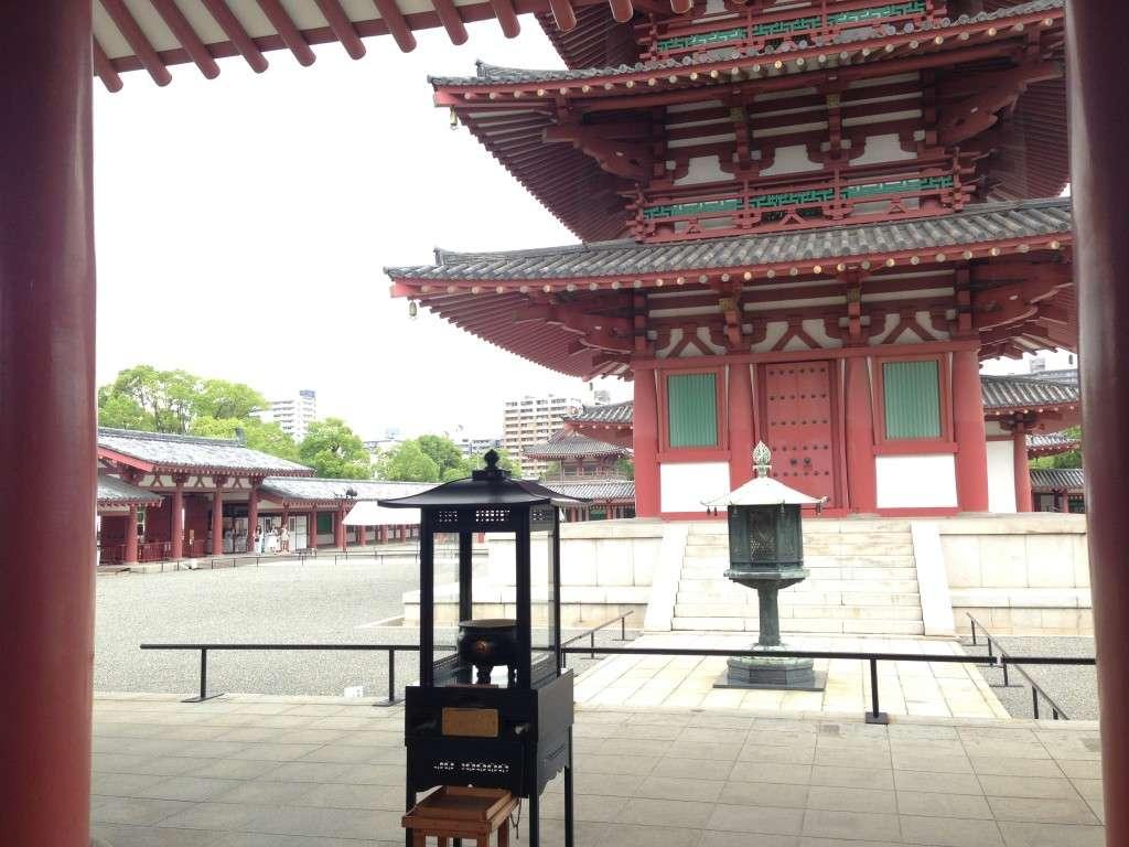 Temple Shitennoji - Konnichiwa Japon - Nomad Junkies
