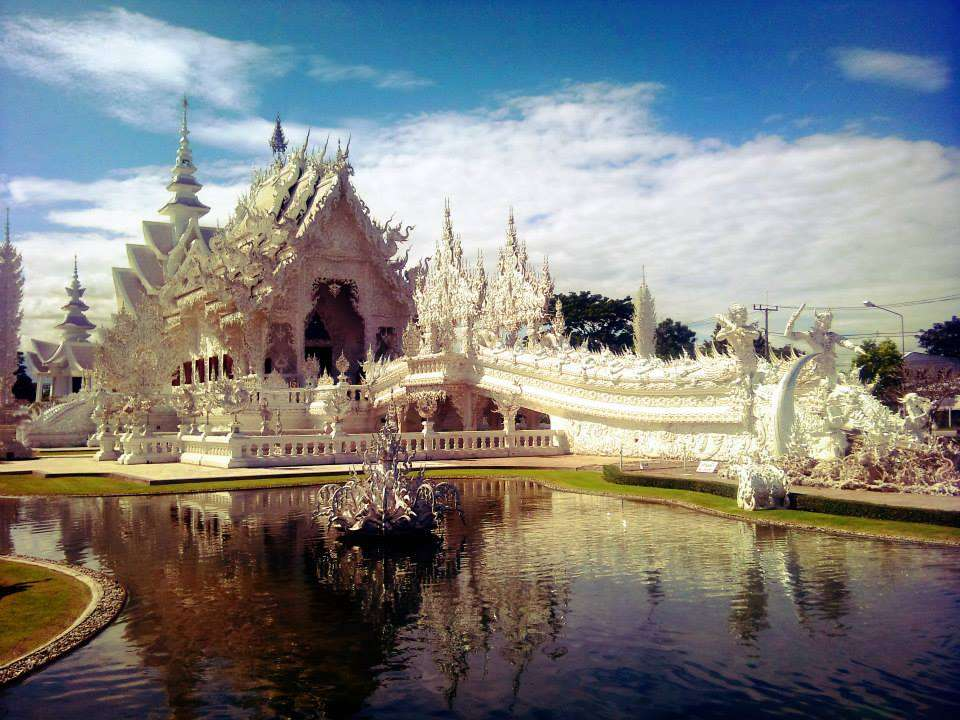 The White Temple - Temple blanc Thailande