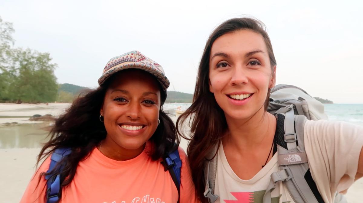 Safia et Emilie - Nomad Junkies
