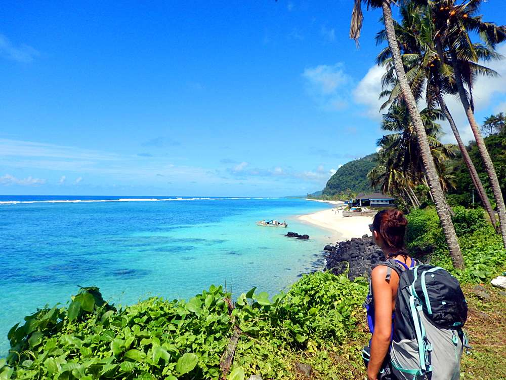 Voyager en sac à dos Polynésie îles Samoa