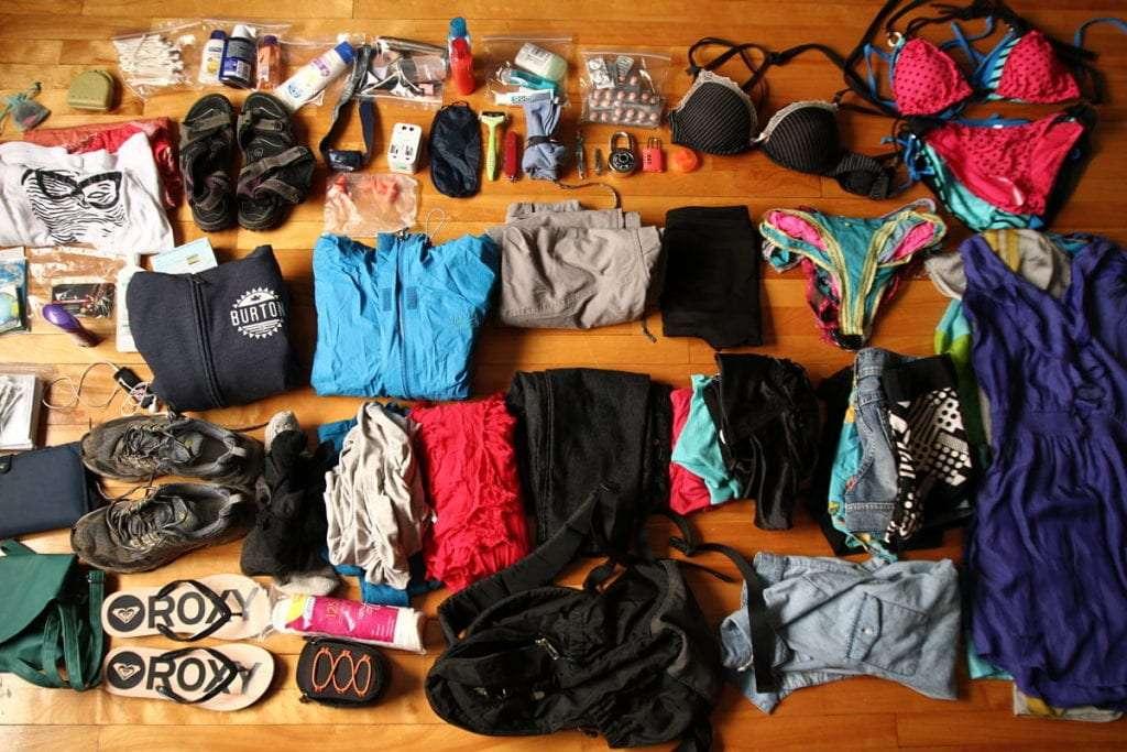 Sac à dos - 100 items pour sac à dos de voyage [tour du monde] - Nomad Junkies