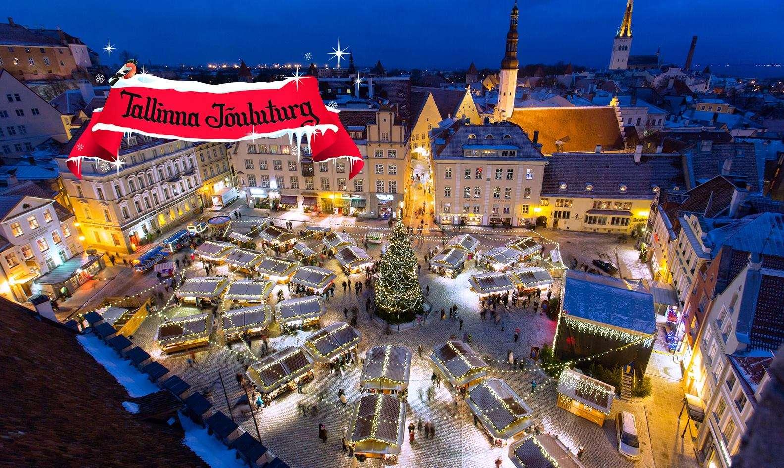 Marché de Noel Tallinn - Top 10 marchés de Noel autour du monde - Nomad Junkies