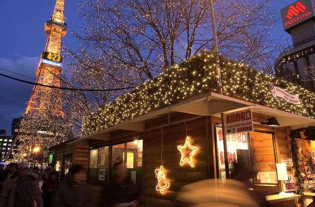Marché de Noel Sapporo - Top 10 marchés de Noel autour du monde - Nomad Junkies