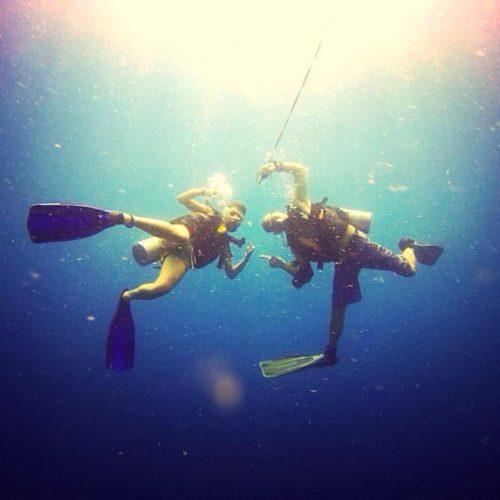 Ne tombe jamais amoureux d'une accro à la plongée sous-marine