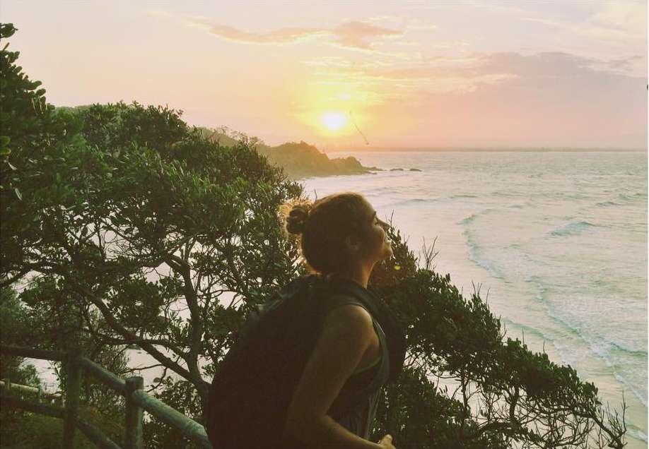 Coucher de soleil - Portrait de nomade : 7 questions à Erika Drolet - Nomad Junkies