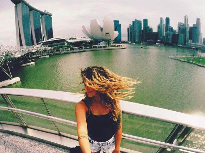 Singapour - Portrait de nomade : 7 questions à Erika Drolet - Nomad Junkies