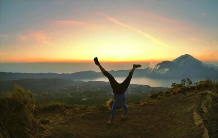 Lever du soleil - Portrait de nomade : 7 questions à Erika Drolet - Nomad Junkies