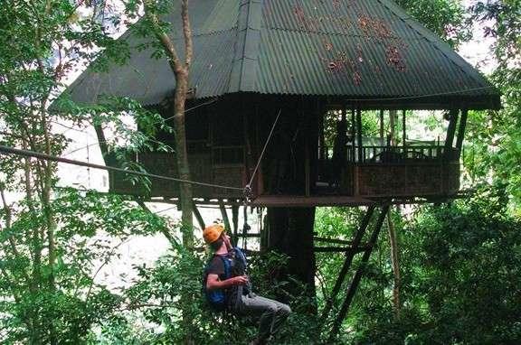 Emplacement - Dormir jungle Laos - Nomad Junkies