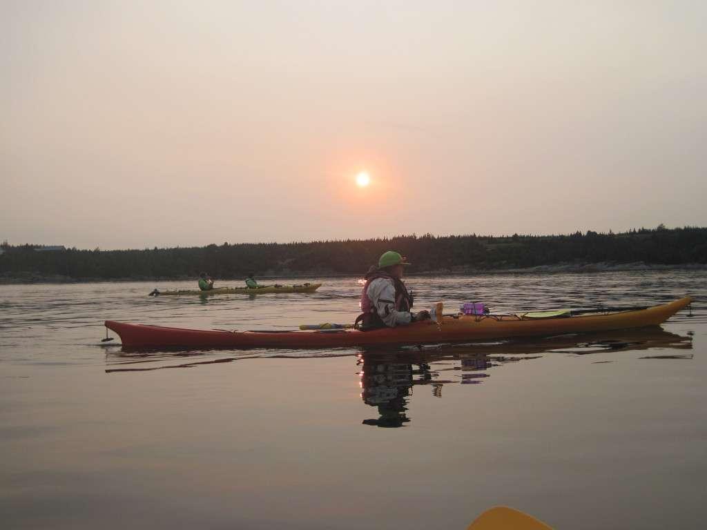 kayak Grande-Bergeronne - Roadtrip au Québec - Nomad Junkies