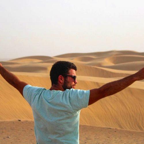 Portrait de nomade : 7 questions à David Mamàn