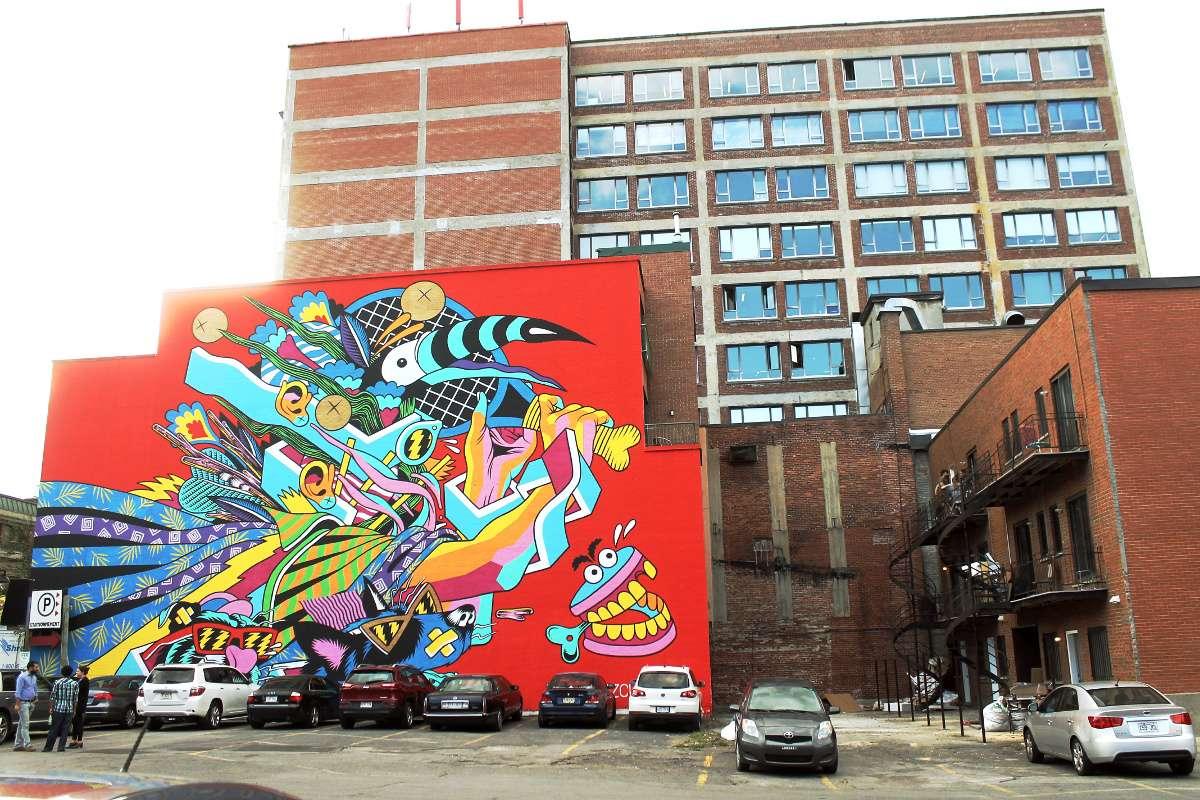 Street art Montréal art de rue