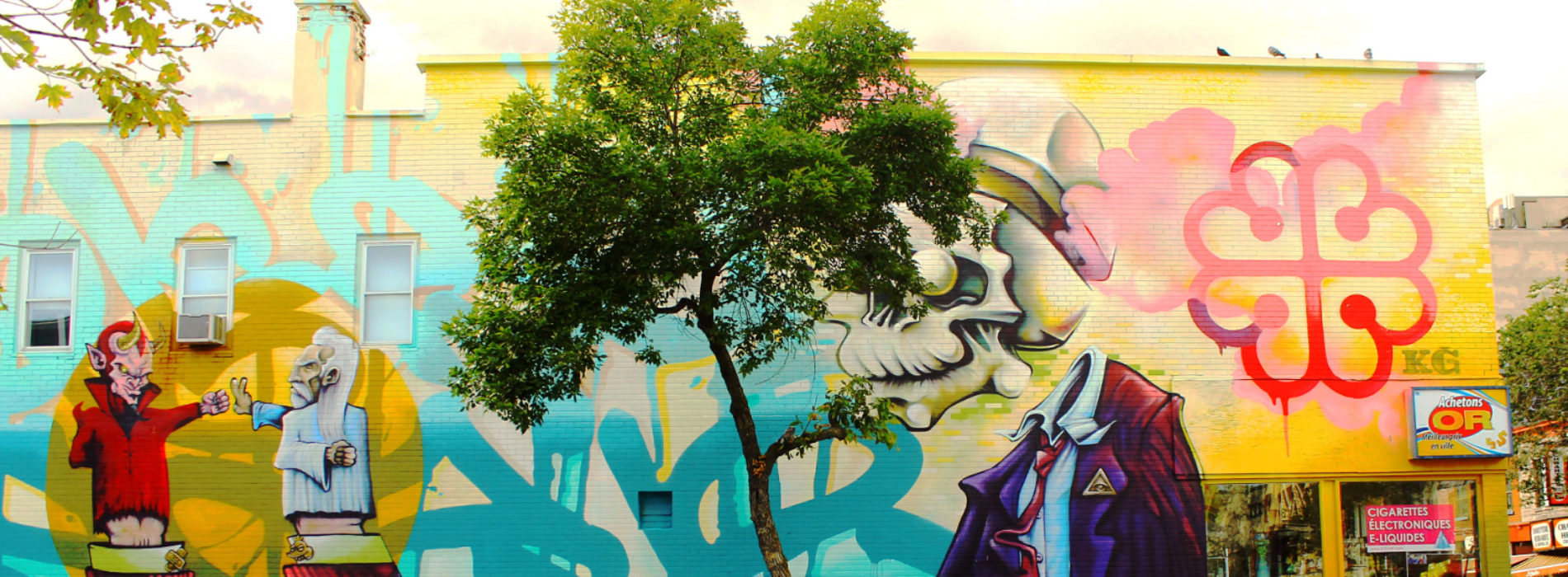 15 oeuvres de street art pour découvrir Montréal