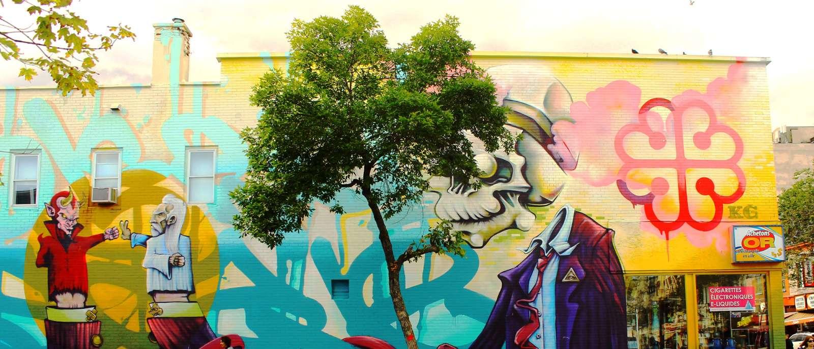 Street Art Montreal Art urbain