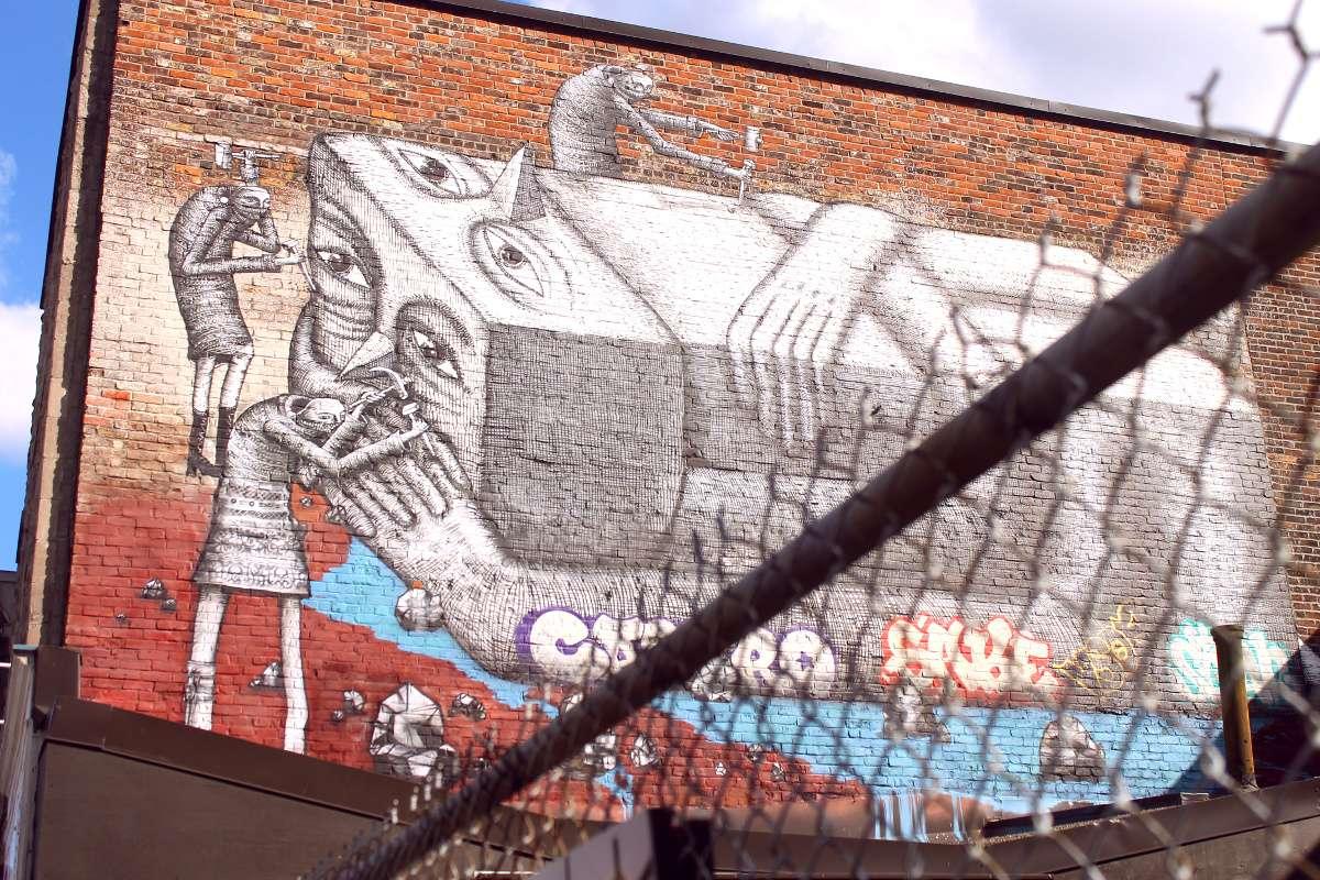 art de rue montreal