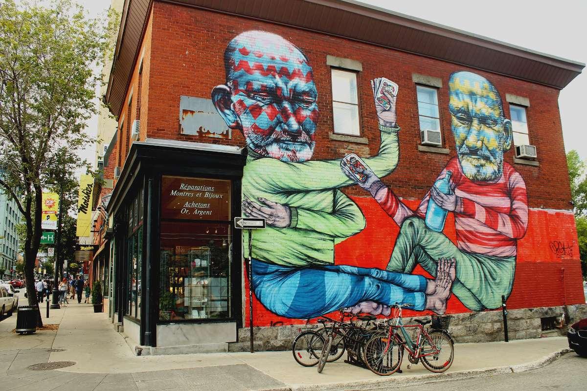 Street Art Montréal Art urbain