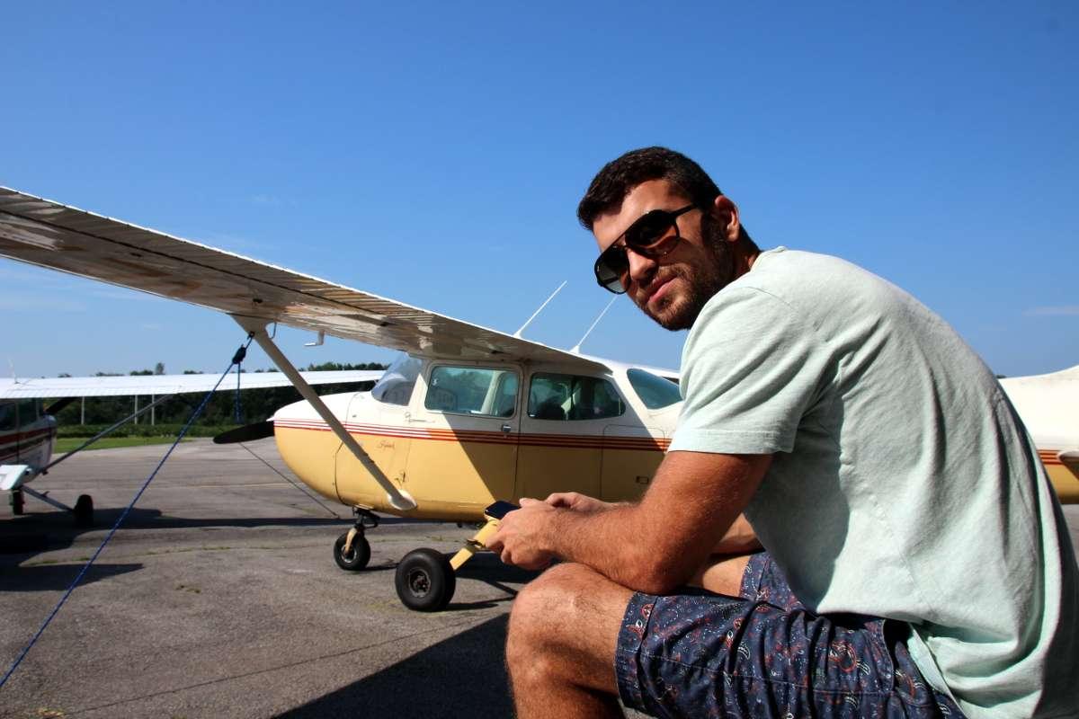 La fois où j'ai piloté un avion