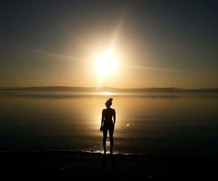 Coucher de soleil - Portrait de nomade : Marie-Noel - Nomad Junkies