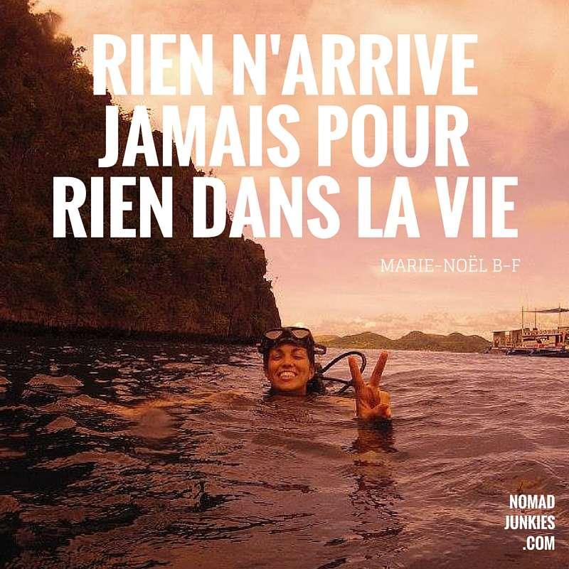 Devise - Portrait de nomade : Marie-Noel - Nomad Junkies